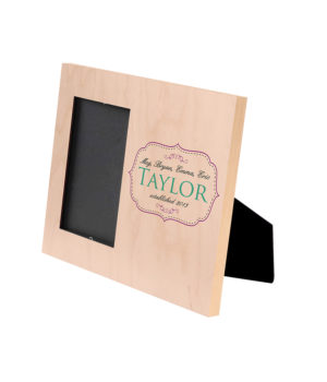 Ts Natural Wood Picture Frame Small 2